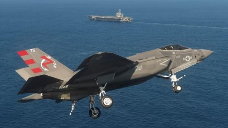 F-35 Sends Target Data to Aircraft Carriers & Land Weapons