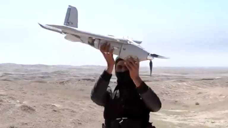 Air Force Attacks & Destroys ISIS Drones