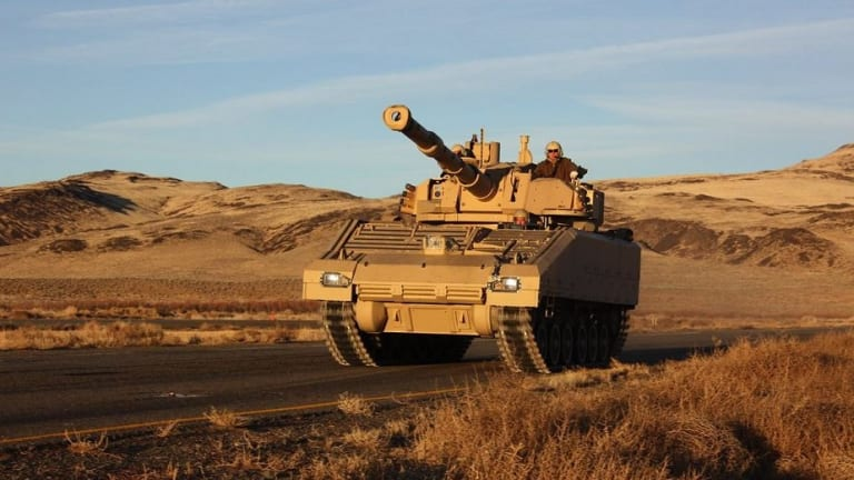 """Army to Buy 500 New """"Light Tank"""" Mobile Protected FirePower Vehicles"""