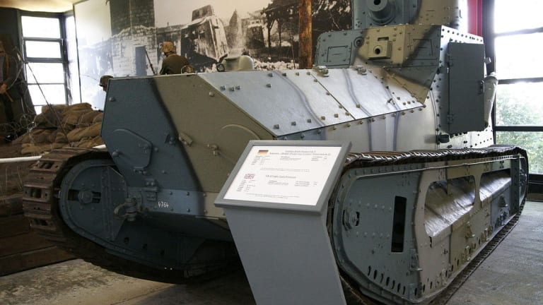 The Forgotten Great War Tank Germany Should Have Built