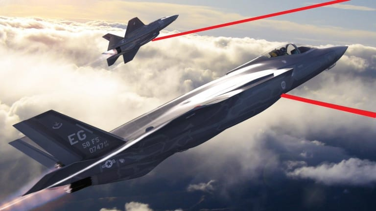 """Air Force Lasers: """"Speed of Light to the Fight in 2020"""""""