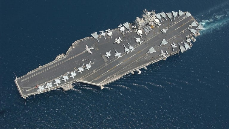Russian Expert Says U.S. Aircraft Carriers Would Defeat Chinese Carriers
