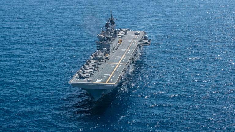 New F-35-Armed Navy Amphib Completes Trials