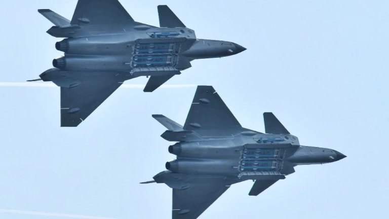 China's J-20 Stealth Fighter: Now A Two-Seater?