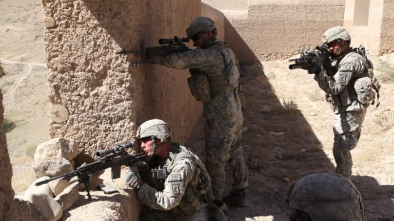 The Army is issuing a Marine Corps sniper rifle to squads