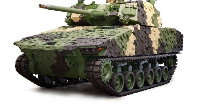 """AUSA: Army Says New """"Future Armored Vehicle"""" Changes War - GDLS Unveils Griffin"""