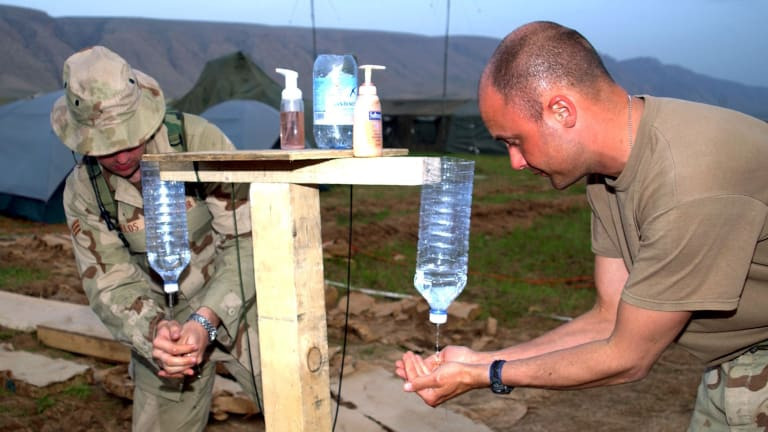 Medical Innovator Offers High-Tech Hand-Washing Technology for War on COVID