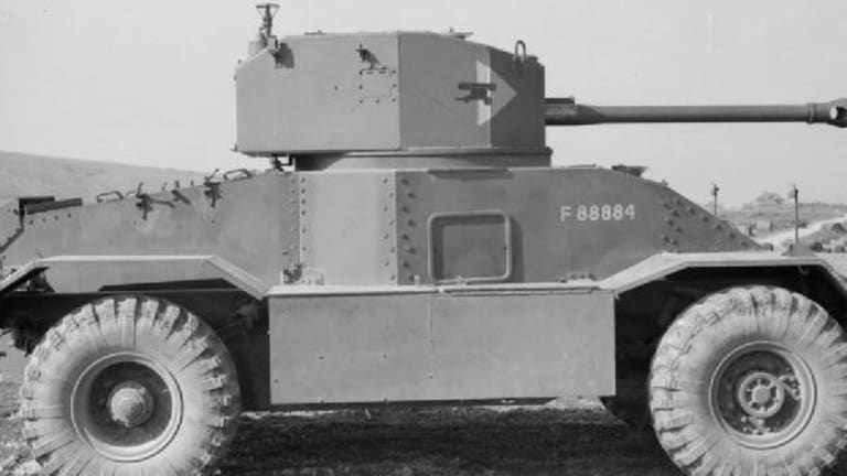 This Armored Car Pretended to be a Tank