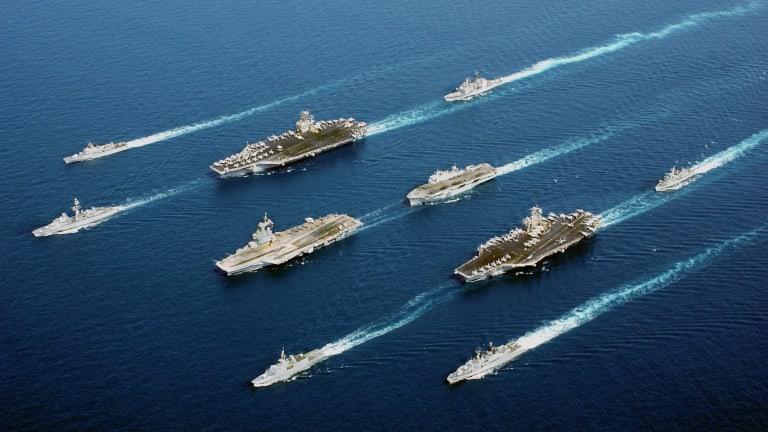 Citing China Concerns, Navy Still Seeks 500-Ship Fleet