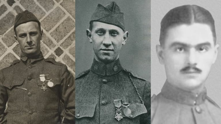 Trio Earns Medals of Honor Saving Tank Soldiers in WWI