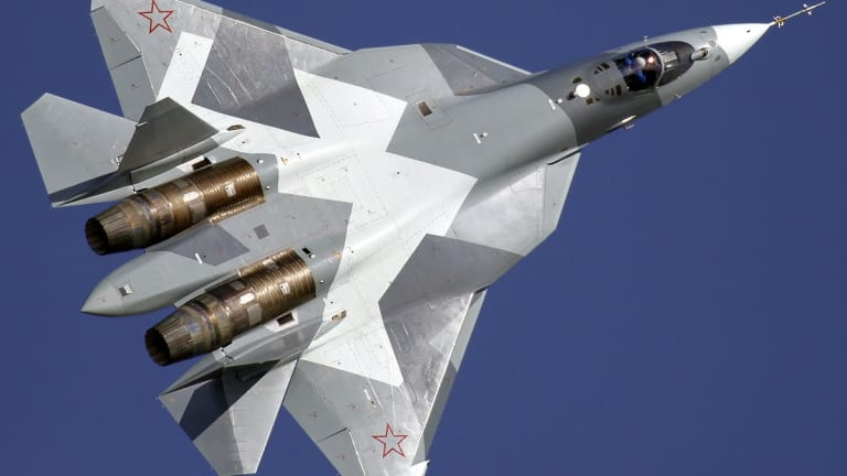 Russia is presenting its new fighter as a cheap alternative to the F-35