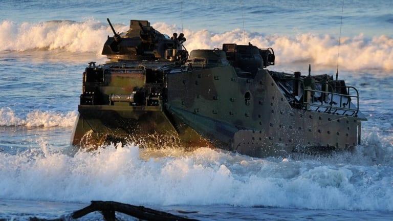 The U.S. Marine Corps' New Amphibious Combat Vehicle is Here