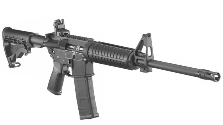 The AR-556 is What Happens When You Mix and AR-15 With a Gun