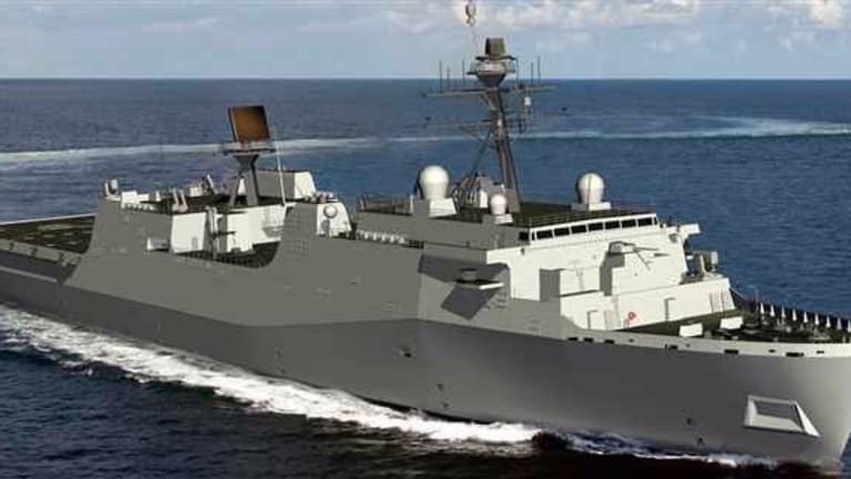New Navy Amphib Tests Changing Strategy