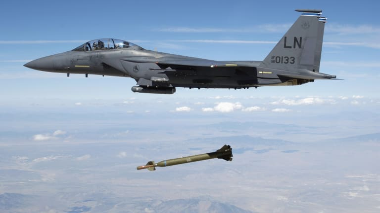"""Air Force Fast-Tracks New A2K """"More Penetrating"""" Deep Strike Bunker Buster Bomb"""