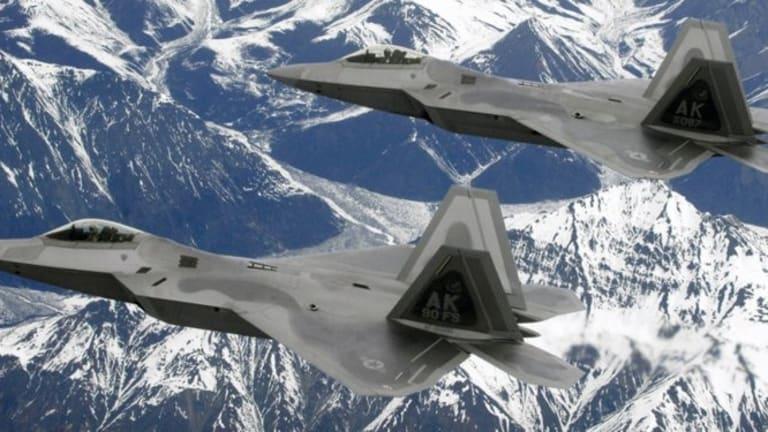 F-22 stealth jets intercept Russian strategic bomber heading for Alaska