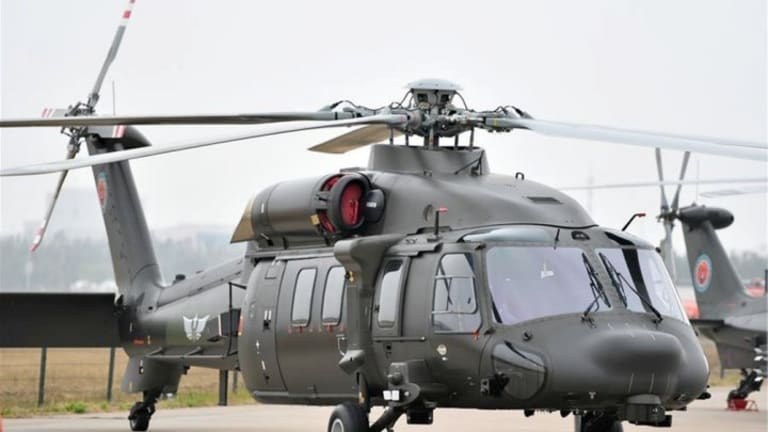 """China's Z-20: Is China's """"Black Hawk Helicopter"""" A Worthy Competitor?"""