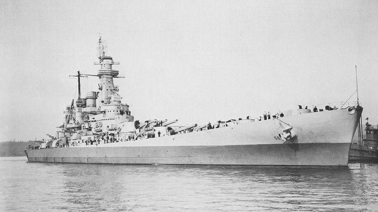 USS 'Washington' Wrecked a Japanese Battleship — At Point Blank Range