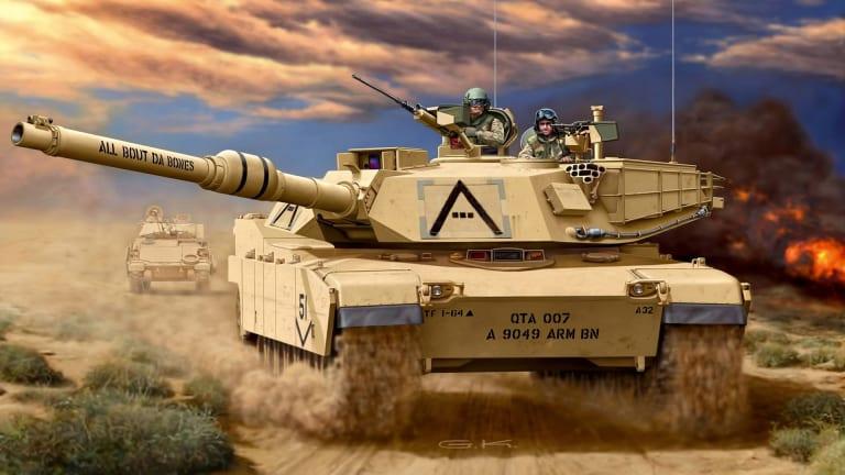 Future Tanks: 30-Tons, Artificial Intel, Commanding Attack Robots