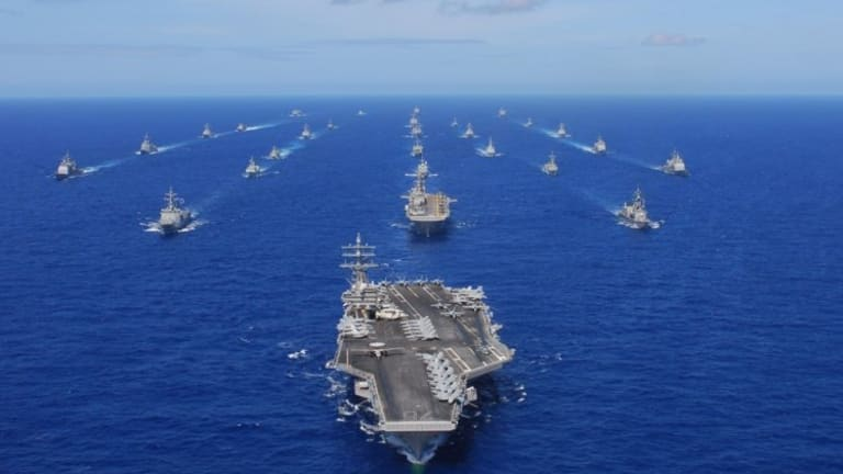 """Navy Weapons Strategy Preps for Future """"High-End"""" Fight - Massive Ocean War"""