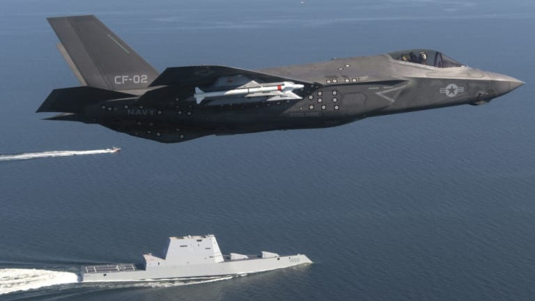 How the F-35 Will Internally Carry Weapons to Preserve Stealth