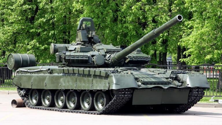 NATO Shouldn't Forget About Russia's T-80 Tank