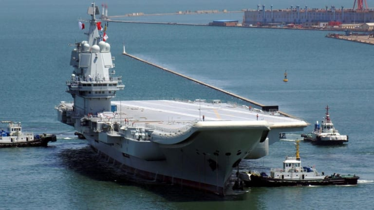 China's Navy Could Soon Have an Aircraft Carrier Battle Group