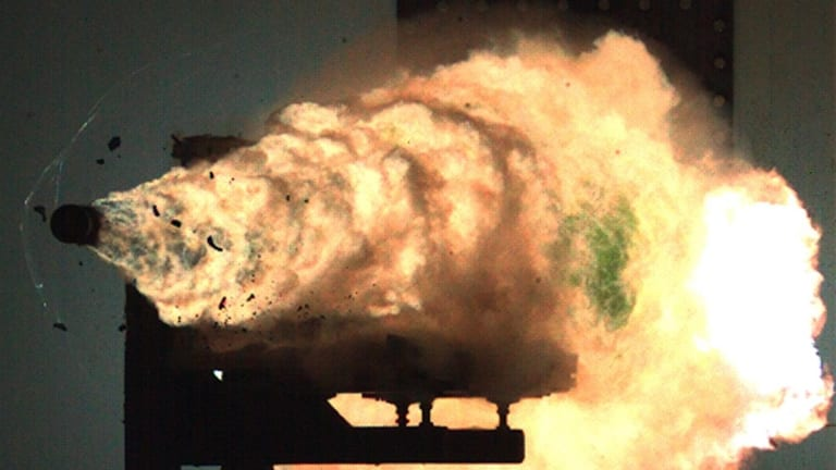 """Navy: Railgun Tests to """"Blow the Top Off a Mountain"""""""