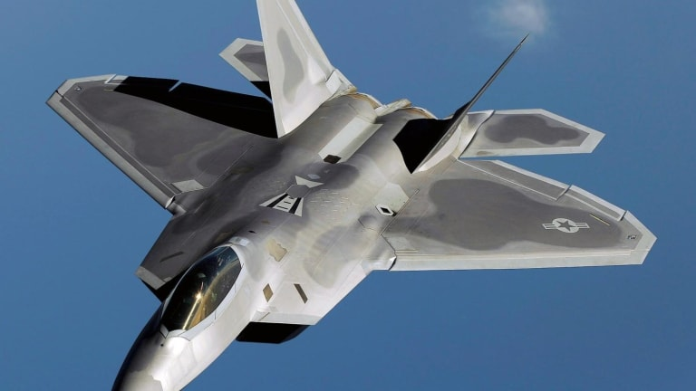 Stealth F-22 Raptors Are in Europe with One Goal in Mind: Deter Russia