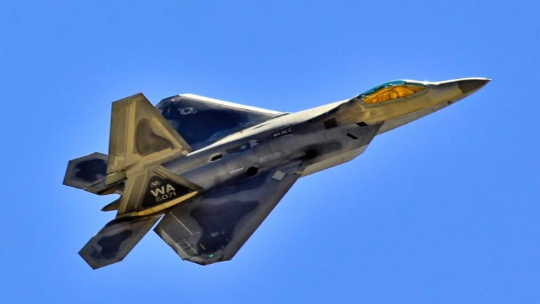 Air Force Maps Future F-22 Weapons Strategy