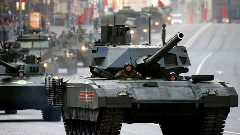 Russia Expands Global Reach of New T-14 Armata Battle Tank