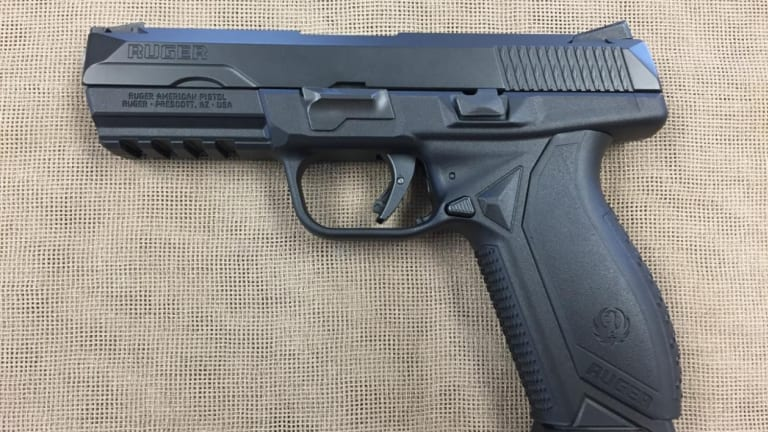 Army Considers Ruger American Pistol