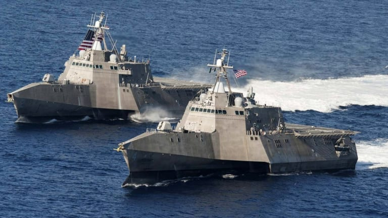 """Navy LCS Tests """"Soft-Kill"""" Countermeasure to Destroy Enemy Torpedoes"""