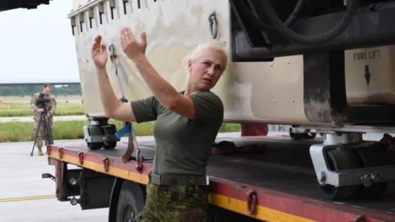 U.S. Reaper Drones Patrol Russian Border in Baltics