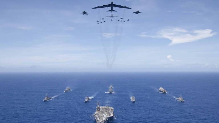 Imagine This: What if China Sunk a Navy Aircraft Carrier?
