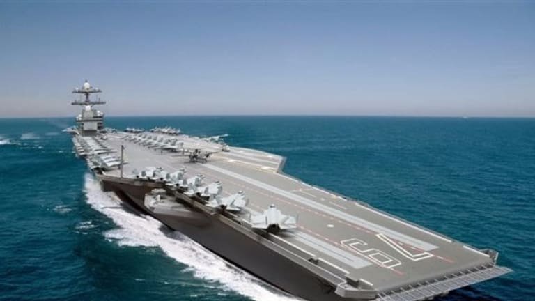Navy 2nd Ford-Class Carrier Employs New Building Technique