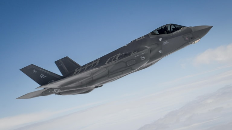 """Pentagon & Lockheed  Integrate New F-35 Weapons With Software """"Drop"""""""