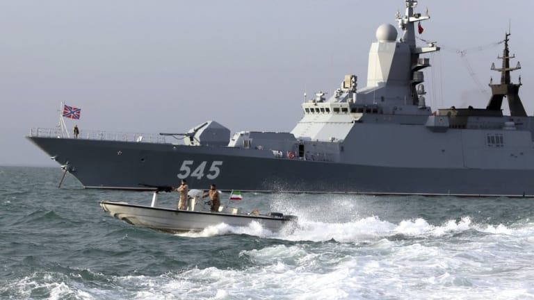 Iranian-Russian Naval Drills Are Troublesome for U.S.