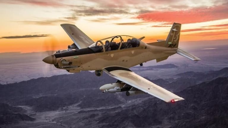 New Air Force Light Attack Plane Moves Quickly Toward Combat