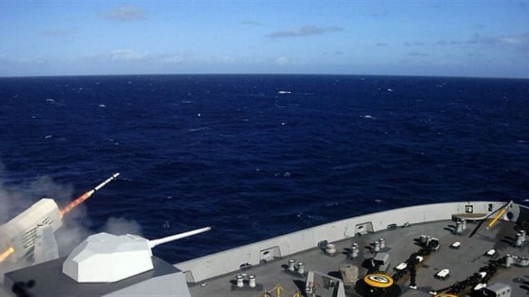Navy Fires New Ship-Defense Missile
