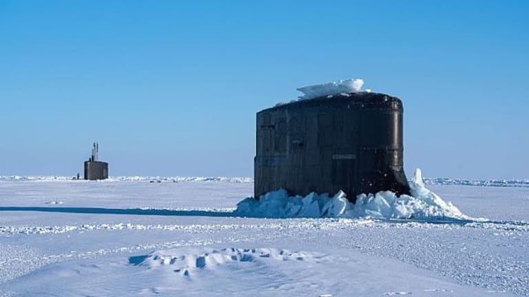 Navy Fast-Attack Subs Fire Torpedoes Under Arctic Ice