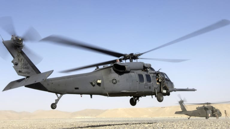 Air Force Resurrects Pave Hawks From Combat