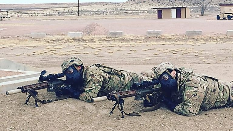 Army Snipers Field Test a More Accurate, Ergonomic Rifle