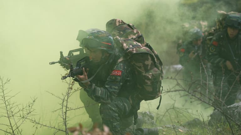 See Weapons China has Been Showing Off in Possible Message to Its Enemies