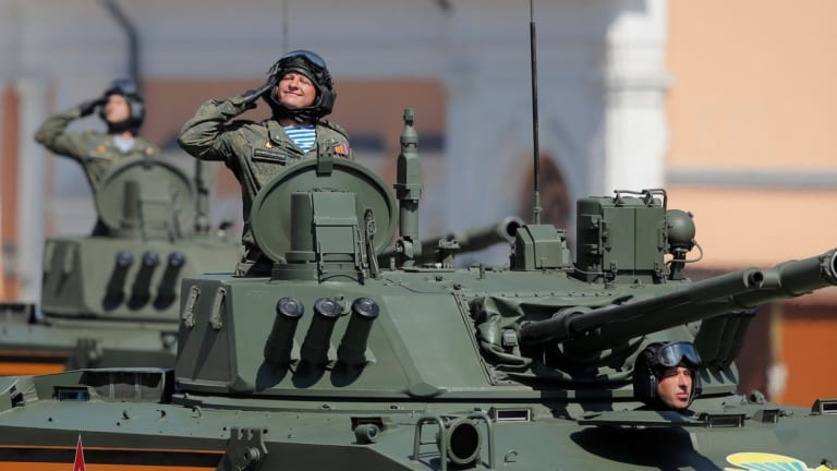 Russia Puts its New Weapons on Parade