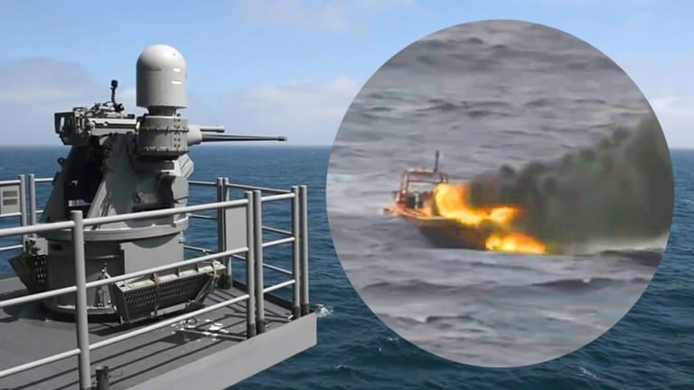 Navy Refines Small Boat Attack Defenses
