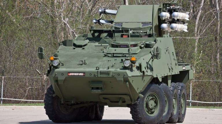 Warrior Video Intv: New Stryker-Fired Hellfire, 30mm Change Combat