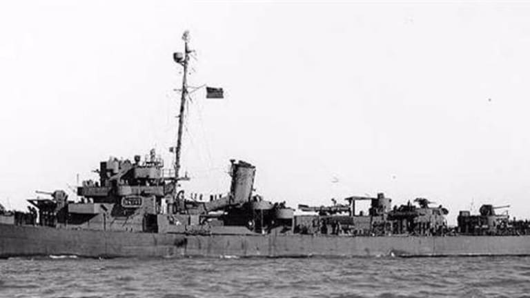 How a US WWII Ship Attacked Japanese Planes?