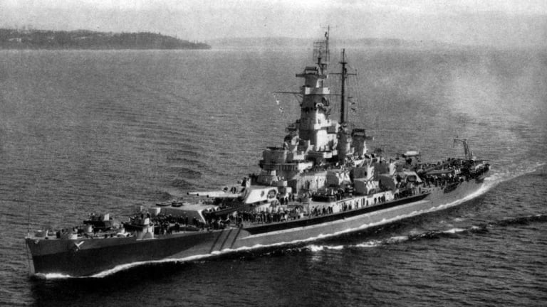 The USS 'Massachusetts' Packed Lots of Firepower in a Small Package