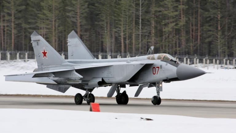 Video: See Russia's MiG-31 Supersonic Assassin Do What It Does Best